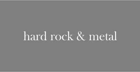 hard rock & metal